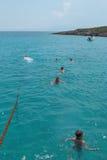 swimming fotografie stock libere da diritti