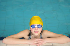 Swimming royalty free stock photos