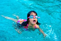 swimming Stock Afbeeldingen