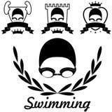 swimming Fotografie Stock