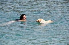 swimming Royalty-vrije Stock Fotografie