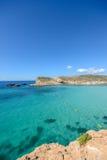 Swimming area, blue lagoon on Gozo / Malta Stock Image