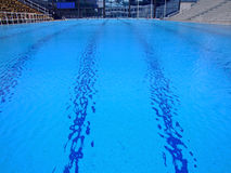 Swimming arena Stock Photos