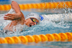 Swimming Championship 2009 Royalty Free Stock Photos