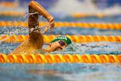 Swimming Championship 2009 Royalty Free Stock Photography