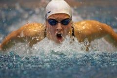 Swimming Championship 2009 Stock Photos