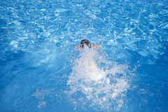 Swimming child Royalty Free Stock Image