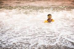 Swimming child Stock Photo