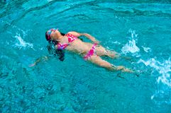 Swimming Royalty Free Stock Photography