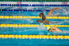 Swimming Competition Toronto Parapan Am Games 2015 Stock Image