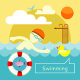 Swimming Concept Royalty Free Stock Images