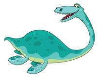 Swimming dinosaur Stock Photos