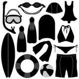 Swimming Diving Snorkeling Aquatic Equipment Tool Stock Photos