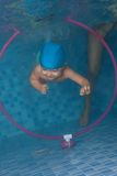 Swimming exercises from early days Royalty Free Stock Photography