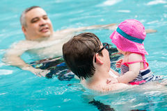 Family with sisters 8 year and 3 month royalty free stock photo image 33103655 3 month old baby swimming pool