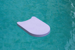 Swimming floating board. In water stock photography