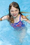 Swimming Girl Stock Photography