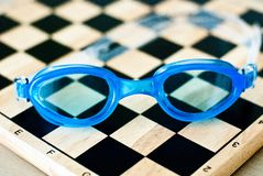 Swimming Glasses Stock Image