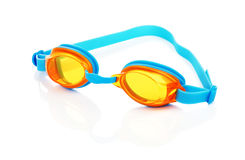 Swimming Glasses Isolated. Glasses for swimming, isolated on white background royalty free stock images