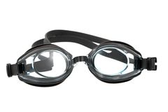 Swimming Goggles. Isolated on white background stock images
