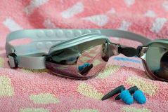 Swimming goggles Stock Image
