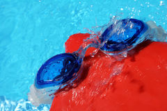 Swimming Goggles and Cap Royalty Free Stock Photography