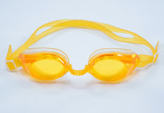 Swimming goggles. This swimming goggles fit for kid to use it royalty free stock photos