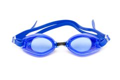 Swimming goggles isolated on the white background Royalty Free Stock Photography
