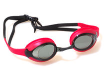 swimming goggles isolated on white background Royalty Free Stock Image