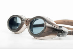 Swimming googles. On a white background Stock Photos