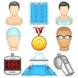 Swimming icon - Sport Royalty Free Stock Photos