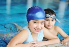 Swimming kid Stock Photography