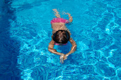 Swimming kid Stock Image