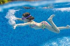 Swimming kid Royalty Free Stock Photo