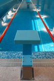 Swimming Lane Royalty Free Stock Photo