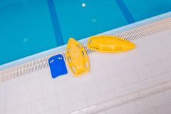 Swimming Learning Concept Royalty Free Stock Photo