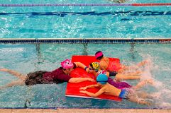 Swimming Lessons Royalty Free Stock Images