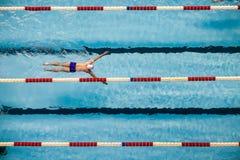 Swimming Stock Photo