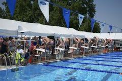 Free Swimming Meet At Pasco Memorial Aquatic Park Royalty Free Stock Image - 150650776