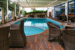 Swimming ool interior royalty free stock images