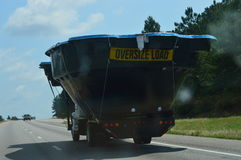 Swimming Oversize Load Stock Image