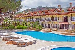 Swimming poll near hotel, Antalya Royalty Free Stock Photography