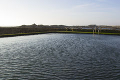 Swimming-pool θαλάσσιου νερού Στοκ εικόνες με δικαίωμα ελεύθερης χρήσης