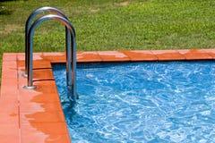 Swimming-pool 1. Detail of swimming-pool Stock Images