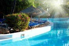 Swimming-pool Royalty Free Stock Photo