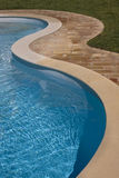Swimming-pool. Swimming pool detail in summer time Stock Photography
