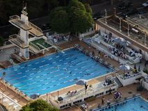 Swimming pool. In Cairo, Egypt Stock Photo