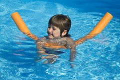 In swimming pool Stock Images