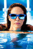 In swimming pool Royalty Free Stock Photography