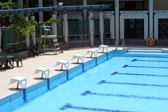 Swimming pool. It is a pool for swimming purpose Stock Photos